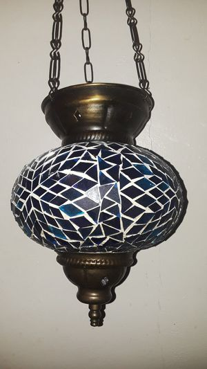 """Absolutely Gorgeous Arabic candle holder or light fixture. 15""""×7"""". ( 15"""" is length including the chain) for Sale in New York, NY"""