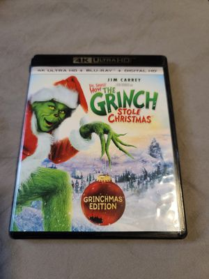 The Grinch 4k for Sale in Los Angeles, CA