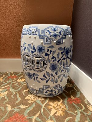 Chinese antique garden stool for Sale in Newport Beach, CA