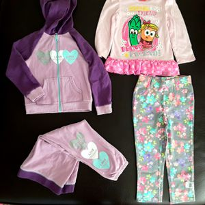 Lot of clothes for toddler girl size 4T for Sale in Phoenix, AZ