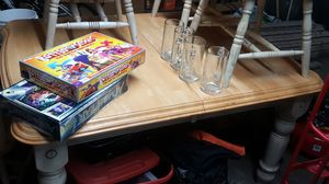 Wood table seats 6 for Sale in East Wenatchee, WA