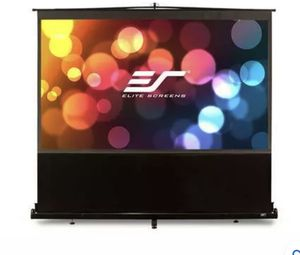 Elite Projector Screens ezCinema Series, 135-INCH 16:9, Manual Pull Up Projector Screen, Movie Home Theater 8K / 4K Ultra HD 3D Ready for Sale in Tampa, FL