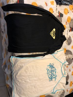 Swim shirts small , used for Sale in Plant City, FL