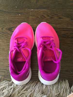 Hot pink that fades to purple Nike shoes for Sale in West Chicago, IL