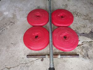 40 LBS STANDARD WEIGHTS for Sale in Columbus, OH