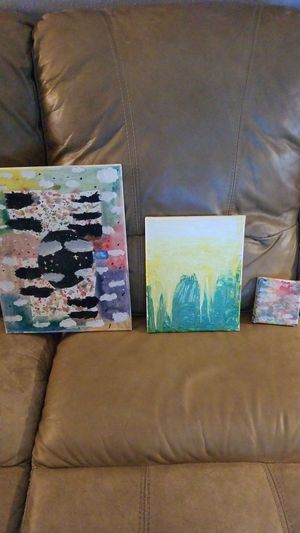 Paintings by My Daughter Paige. for Sale in Land O Lakes, FL