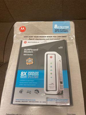 Motorola Surfboard Modem for Sale in Tempe, AZ