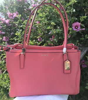 Authentic Coach Christie Saffiano Leather Purse for Sale in Romeoville, IL