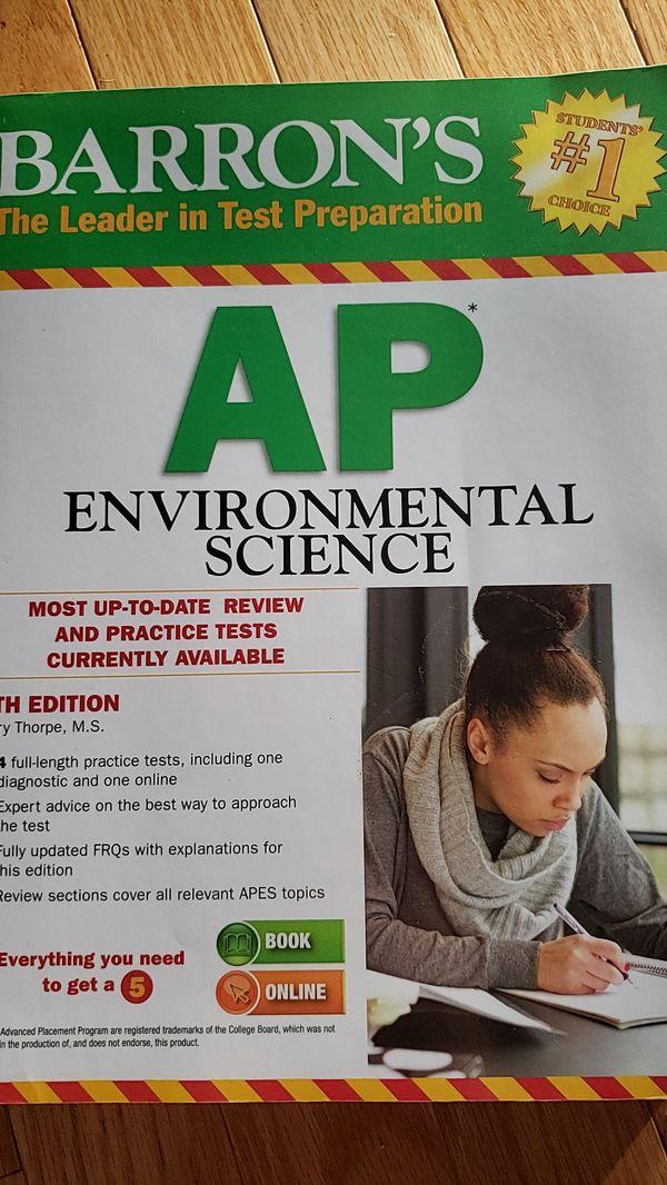 Barron's AP environment science