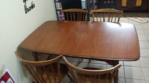 Cherry kitchen/dining room table for Sale in Levittown, PA