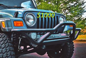 Well maintained 2000🍀Jeep Wrangler TJ Lifted🍀- 1 Owner -$1000 for Sale in Indianapolis, IN