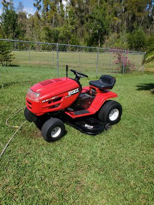 huskee riding lawn mower for sale for Sale in Kissimmee, FL