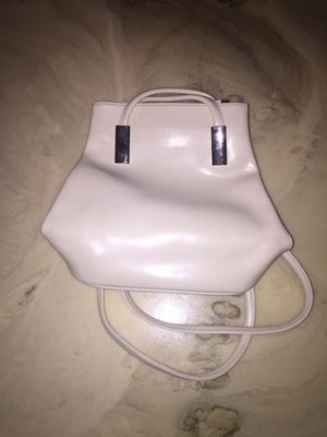 Lancaster leather white backpack purse for Sale in Vista, CA