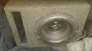 "12"" Kickerbox... (Speaker is blown) for Sale in Detroit, MI"