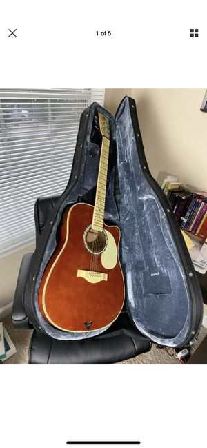 Esteban Legacy 2009 Red Pearl Guitar with Case for Sale in Norfolk, VA
