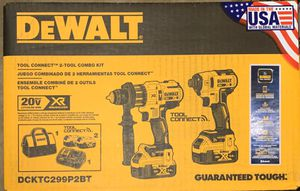 DeWalt DCKTC299P2BT Combo w/ Bluetooth for Sale in Katy, TX