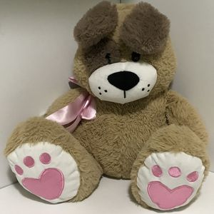 Stuffed Toy . Dog Poppy With Bow. for Sale in Jordan, MN