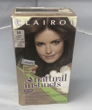 Clairol Natural Instincts 6A Former 14 Tweed Light Cool Brown Hair Color for Sale in Lynnwood, WA