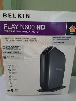 Belkin router for Sale in Martinsburg, WV
