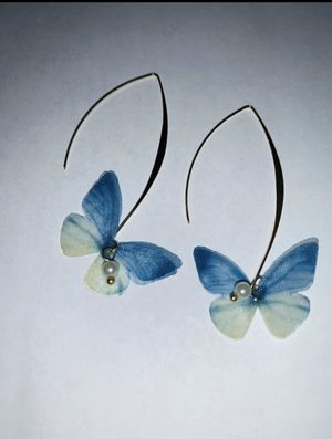 Fashion Sweet Tulle Butterfly Beads earring for Sale in The Woodlands, TX