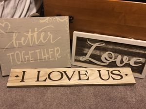 Wall decor $10 each for Sale in Delaware Bay, US