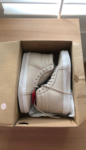 Vans High Top Leather for Sale in Castro Valley, CA