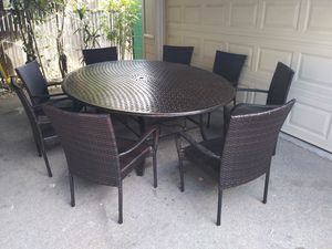 Outdoor patio table and chairs for Sale in Glendale, CA