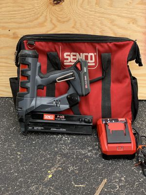 """Senco Fusion F-16S Cordless 16 Gauge Finish Nailer, 3/4"""" to 2-1/2"""" for Sale in Bedford Park, IL"""