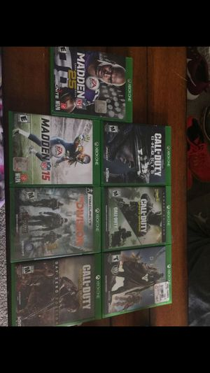 XBOX 1 Games - lot for Sale in Alexandria, VA