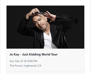 Jo Koy / Jokoy 2 tickets for Sale in Los Angeles, CA