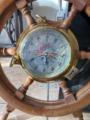 Wall clock all brass for Sale in Las Vegas, NV