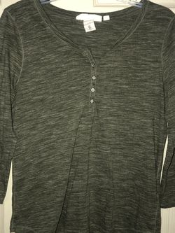 H&M Dark Olive Green Shirt for Sale in Houston,  TX