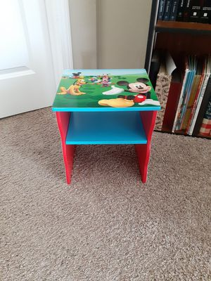 Mickey Mouse toddler night stand for Sale in Lake Stevens, WA