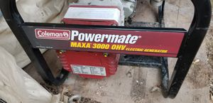 COLEMAN POWERMAT 3000 GENERATOR LIKE NEW for Sale in West Hartford, CT