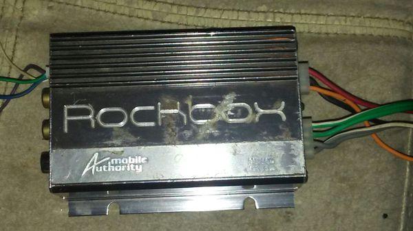 Pair of Rockbox M103A 100watt amps for Sale in Phoenix, AZ