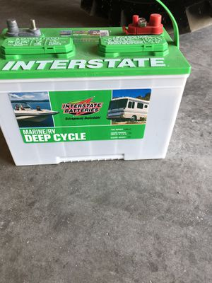 Rv and boat deep cycle batteries for Sale in Arlington, TX