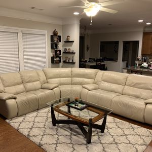 Power Recline Sectional Leather Sofa Set for Sale in Duluth, GA