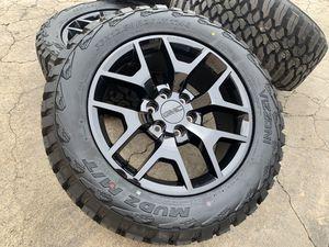 "20"" GMC Yukon wheels Sierra Denali Tires Sensors Rims Escalade 6x5.5 for Sale in Rio Linda, CA"