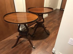 Mersman End Tables $200 for pair for Sale in Seattle, WA