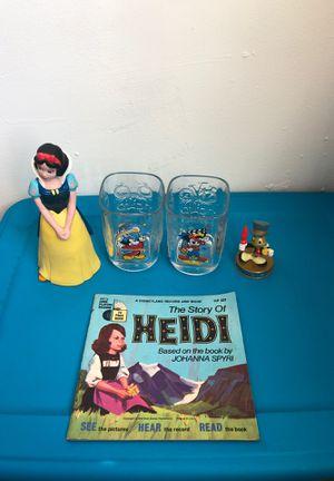 Lot of 5 Disney memorabilia (please read description) for Sale in Wilmington, DE
