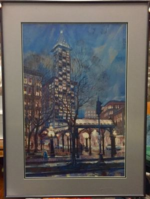 3 Beautiful Prints — Framed and Matted Scenes of the Pacific Northwest for Sale in Everett, WA