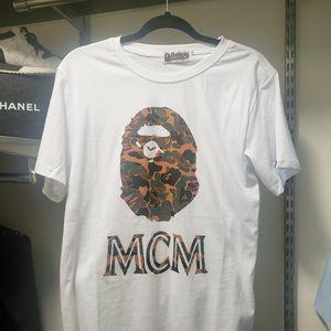 Mcm Bathing Ape Tshirt for Sale in Houston, TX