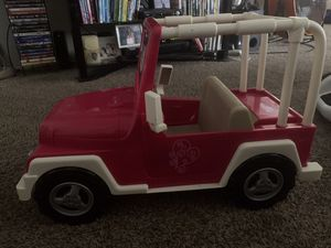 Doll jeep (up 18in) our generation for Sale in Los Angeles, CA