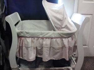 Baby girl bassinet for Sale in Redlands, CA
