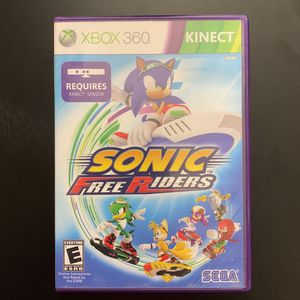 Xbox 360 Kinect Sonic Free Riders for Sale in Scottsdale, AZ