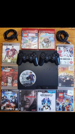 PS3 with move sharpshooter bundle for Sale in Oklahoma City, OK
