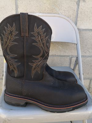 Ariat composite toe work boots size 10D for Sale in Riverside, CA