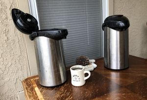Two 2-Gallon Coffee Servers for Sale in Vandenberg Air Force Base, CA