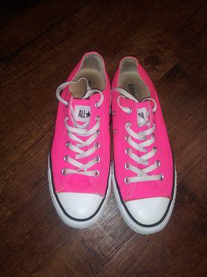 Hot pink converse for Sale in San Antonio, TX