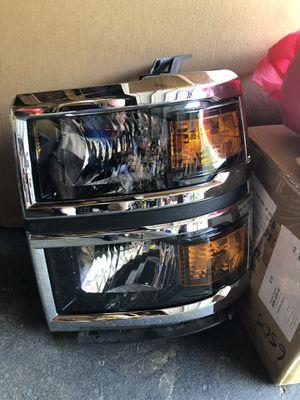 2014-2015 Chevy Silverado Headlights for Sale in Kearny, NJ